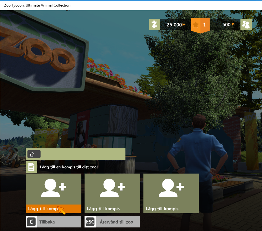 Add a friend in Zoo Tycoon - Microsoft Community