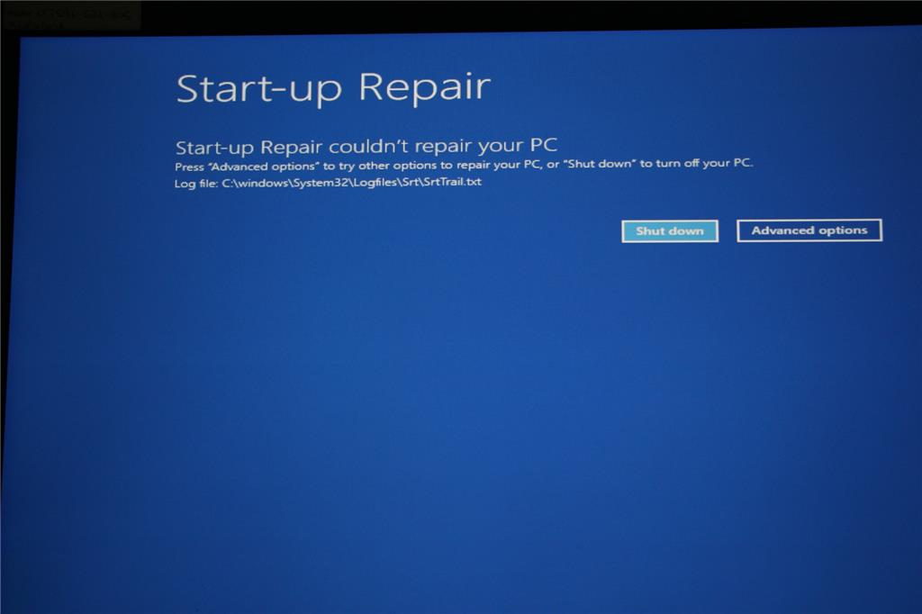 Latest win 10 update caused blue screen No OS File BCD