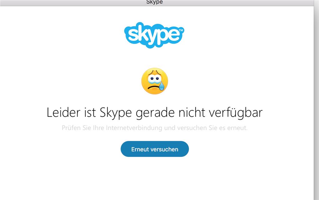 Skype Konto Gesperrt