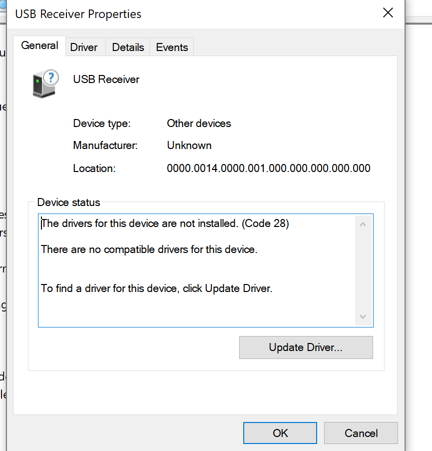 58887f4c9e0 Logitech Unifying Receiver no longer recognized in Windows 10 ...