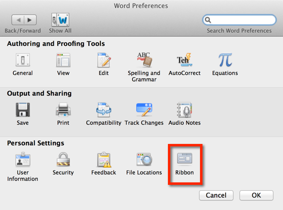 How to enable the Developer Tab in Word for Mac 2011 - Microsoft