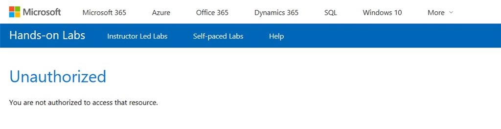 Cannot login to Self-Paced Labs - Training, Certification, and ...