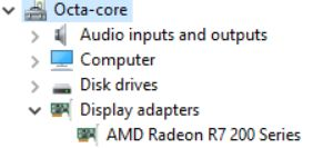 Why won't Game DVR recognize my AMD Radeon R7 200 card