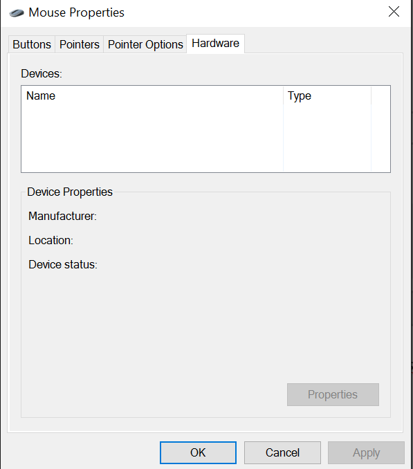 How to add touchpad to device manager