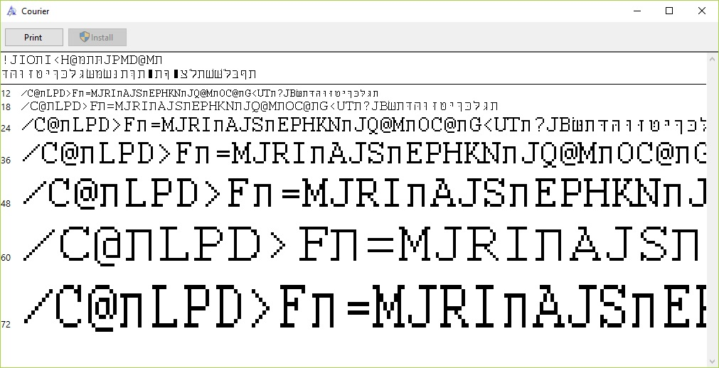 Problems with Windows 10 Fonts - Microsoft Community