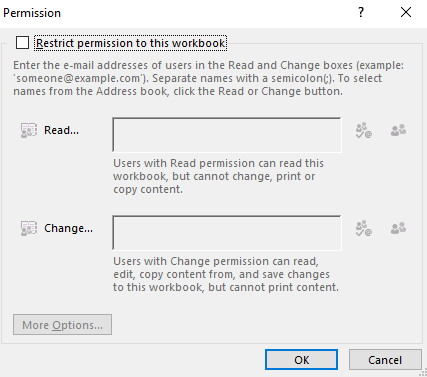 protect excel workbook from saving changes