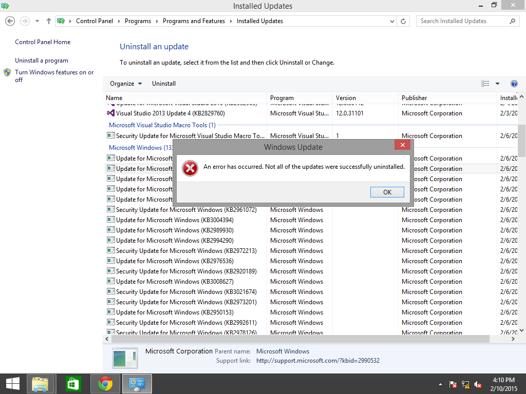 Watch How to Uninstall All Windows Updates video