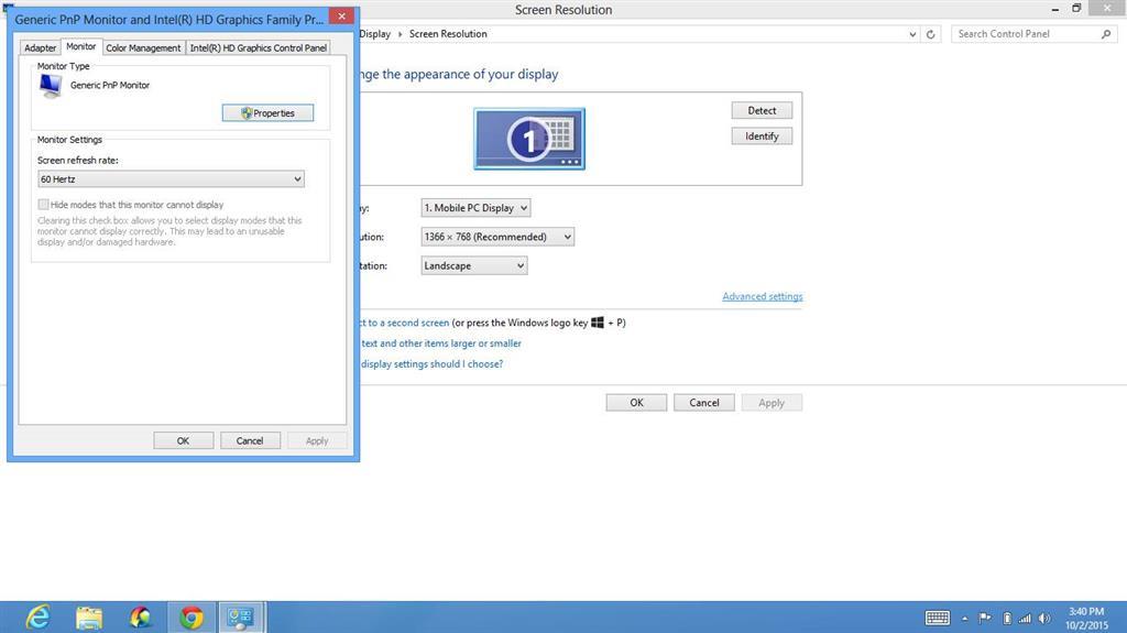 Flickering Screen Problem - Microsoft Community
