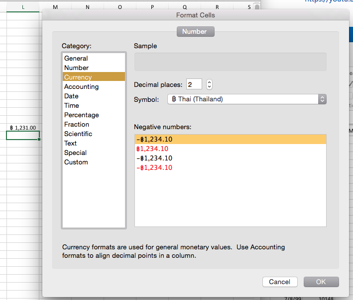 Excel Currency And Accounting Standard Symbols Microsoft Community