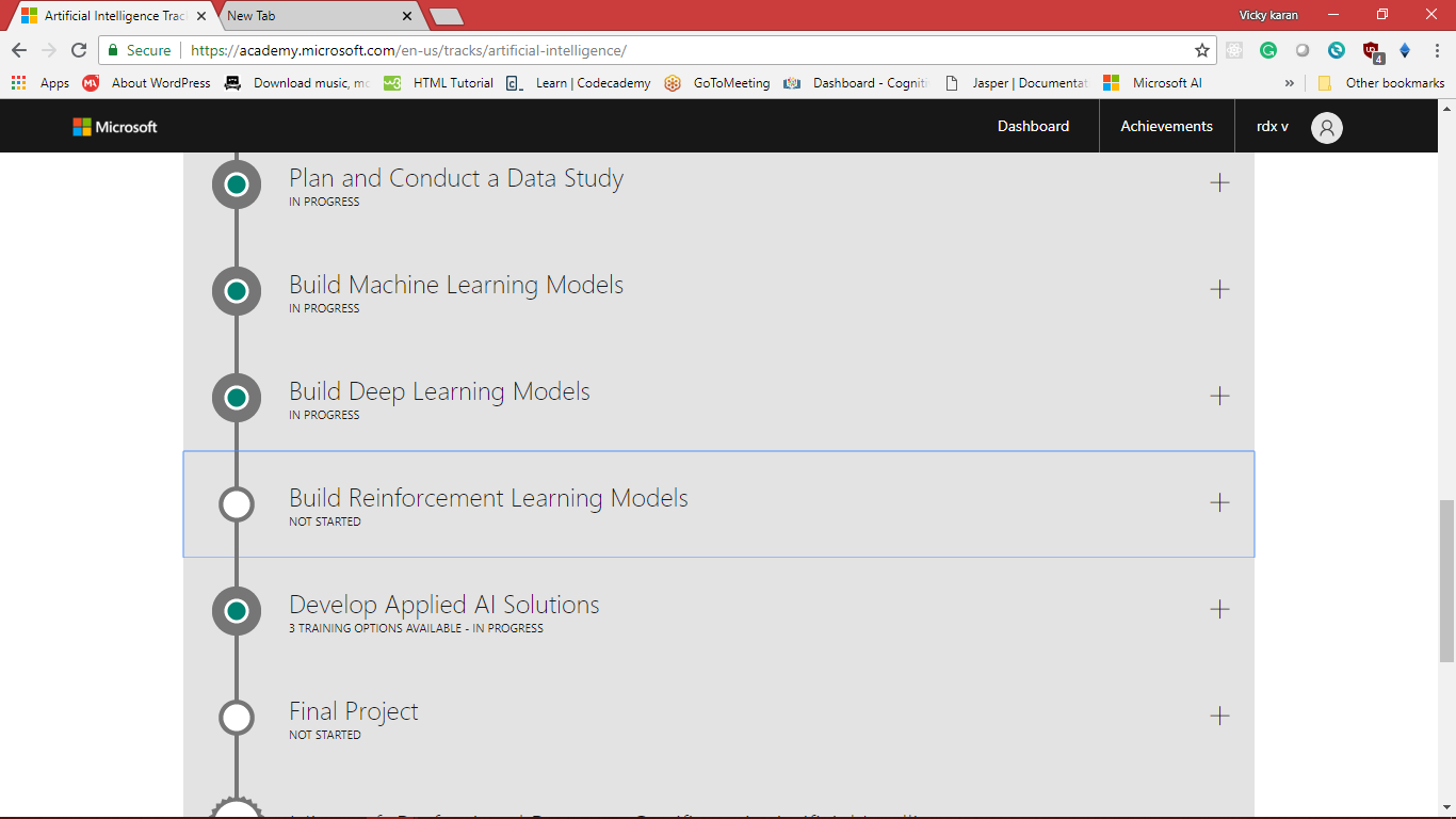 I Have Already Finished Reinforcement Learning Explained Its