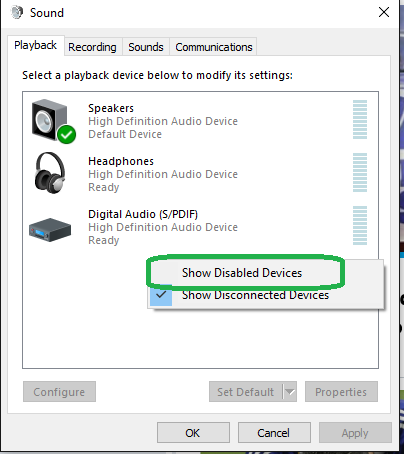 realtek hd audio hdmi no sound