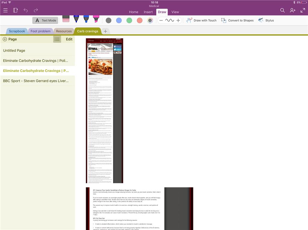 OneNote Safari integration issue On iPad Pro - Microsoft