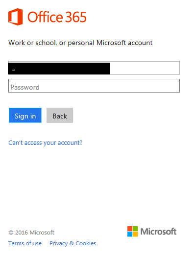 modern authentication on outlook 2016 keeps on giving popup to enter
