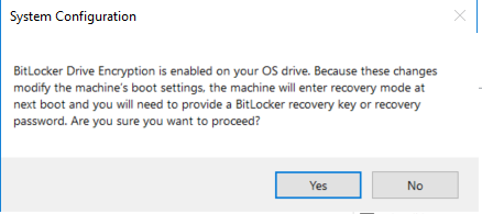 BitLocker encryption is enabled on your OS - Microsoft Community
