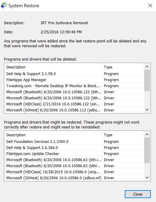 Junkware Removal Tool (JRT) by Malwarebytes - Microsoft Community