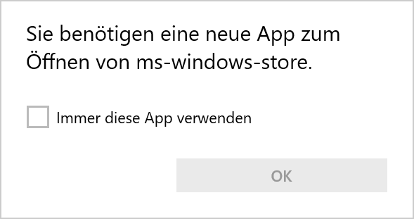 windows 10 store startet nicht mehr apps funktionieren microsoft community. Black Bedroom Furniture Sets. Home Design Ideas