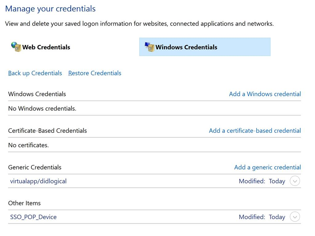 Stop windows credentials from automatically saving my login info image microsoft xflitez Gallery