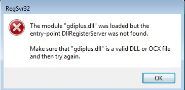 The program can\u0027t start because gdiplus.dll is missing from your