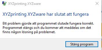 XYZware not starting on windows 10 - Microsoft Community