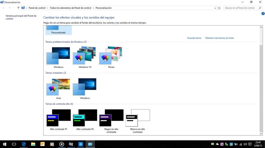 Como cambiar el color de las ventanas en Windows 10? - Microsoft ...