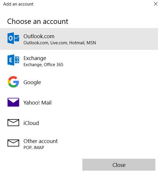 Windows 10 Mail Microsoft Community