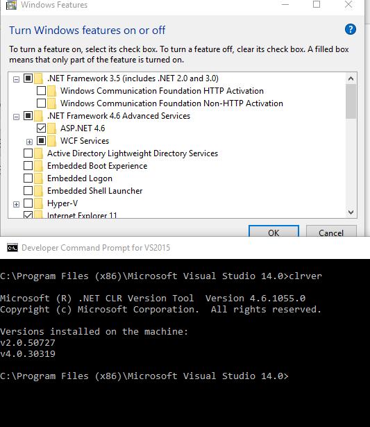net framework 3.5 not on machine - Microsoft Community