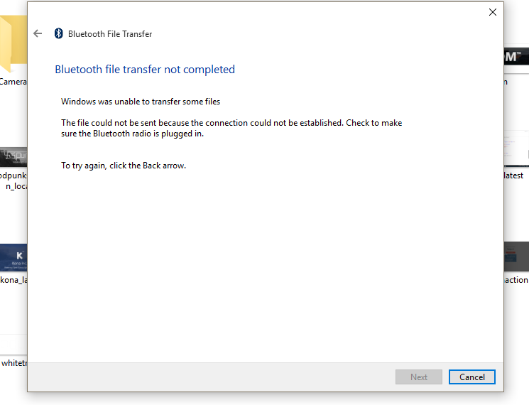 bluetooth device error microsoft communitybluetooth device error