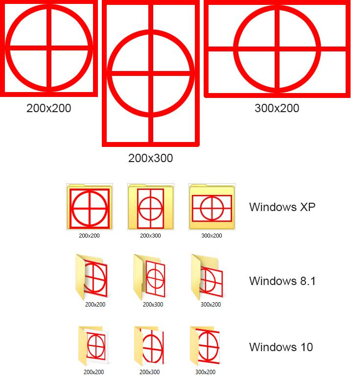 windows 10 folder icons