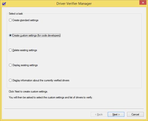 driver verifier tracking down a mis behaving driver microsoft
