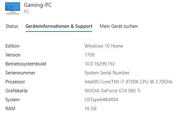 Windows lässt sich nach Hardwareänderung nicht aktivieren.
