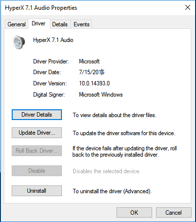 hyperx cloud 2 drivers windows 10 download