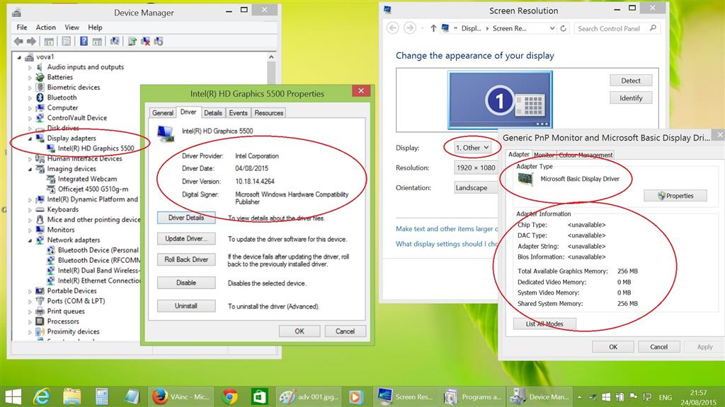 Microsoft basic display adapter driver   Microsoft Basic