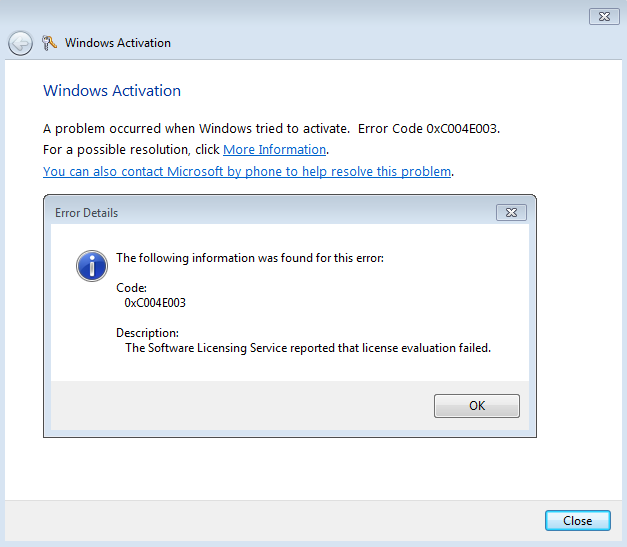 what happens if windows 7 enterprise is not activated