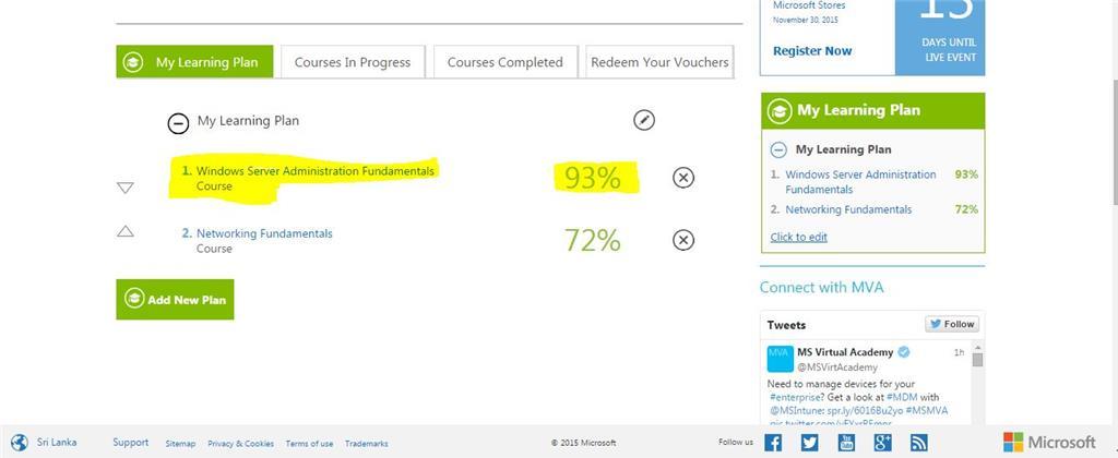 Course Completion Windows Server Administration Fundamentals