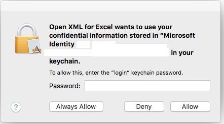 user gets notice open xml for excel wants to use your microsoft