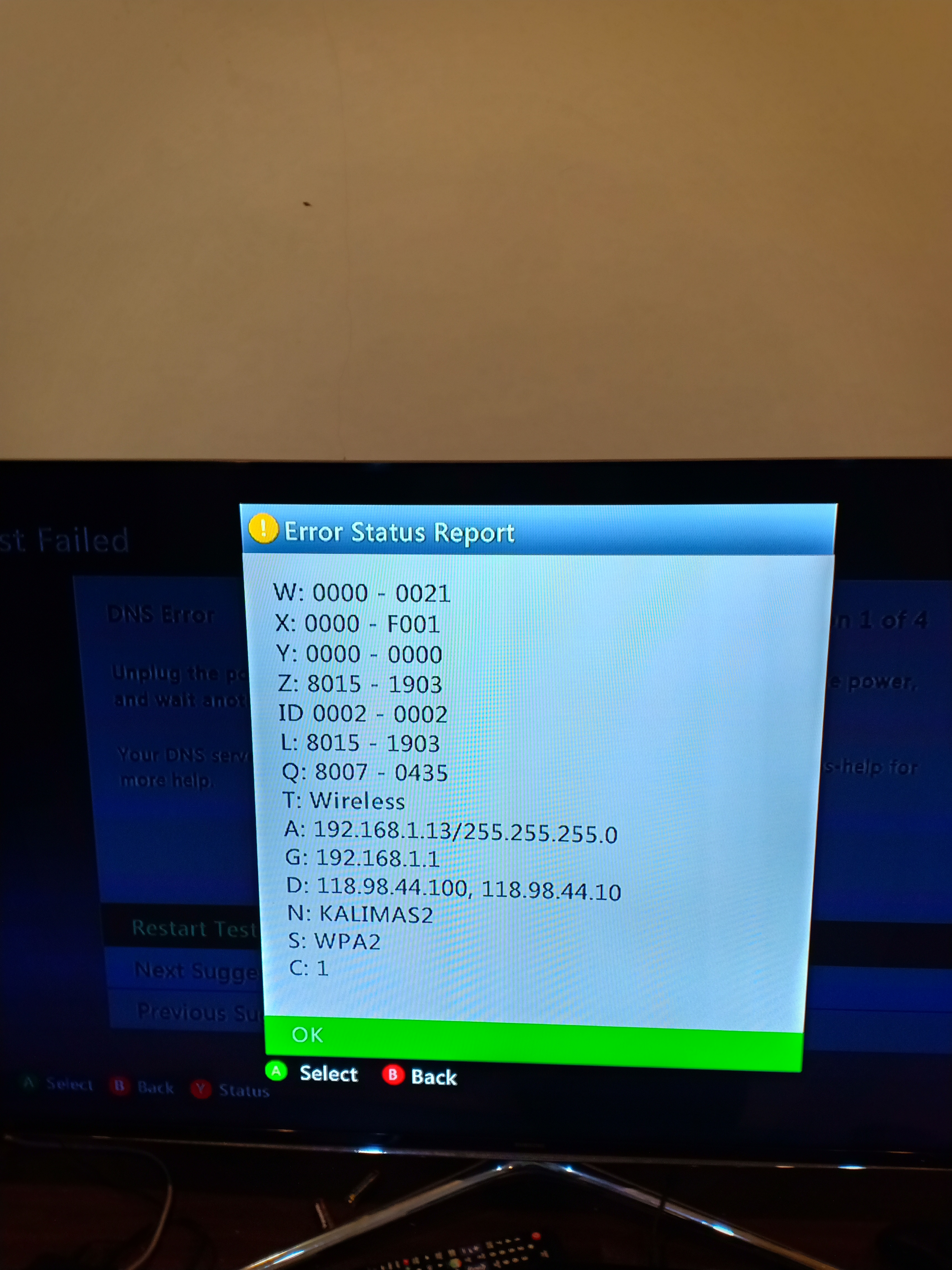 Cannot Connect My Xbox 360 To The Internet Microsoft Community