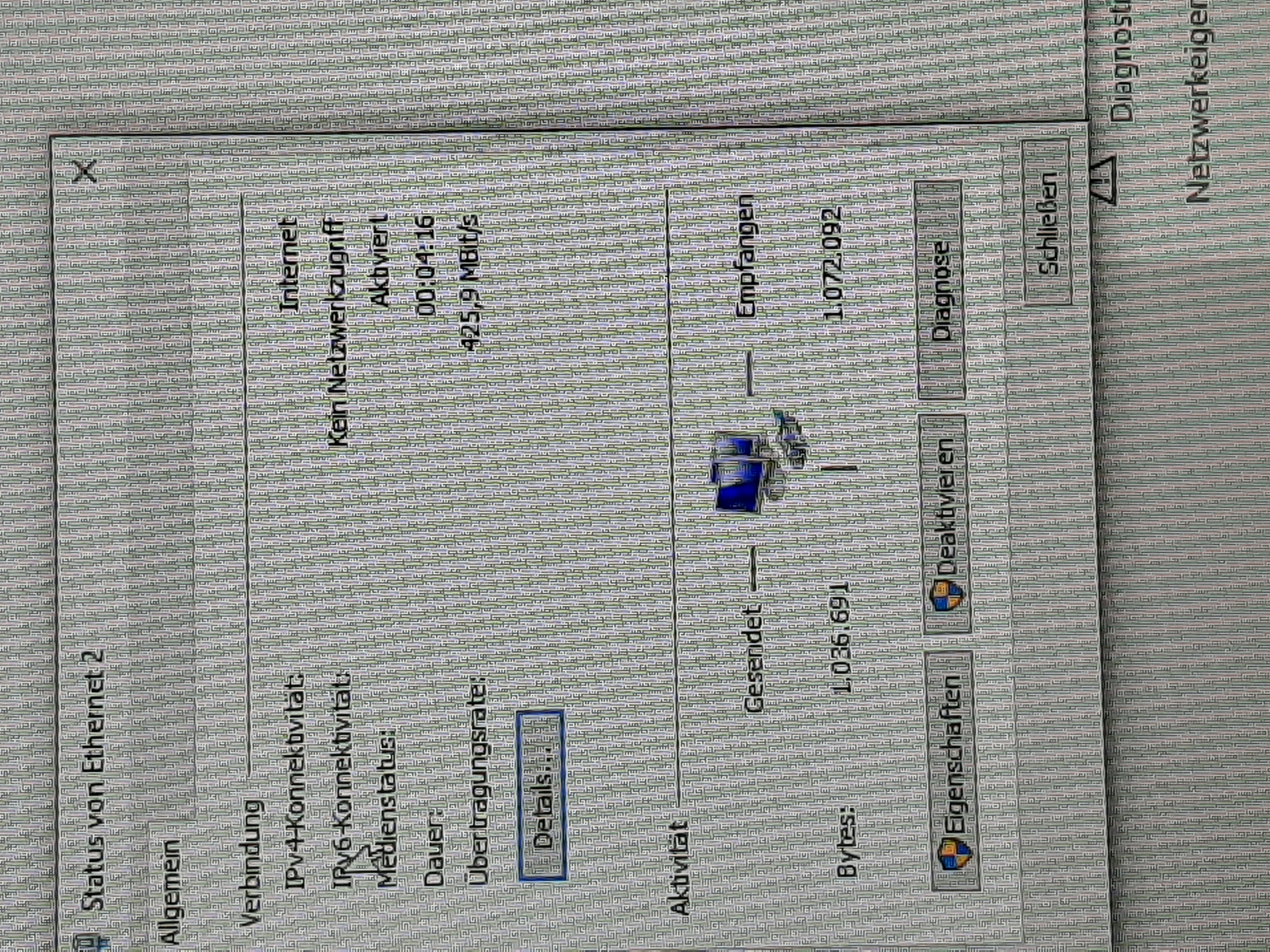 Kein  Netzwerkzugriff iPv6