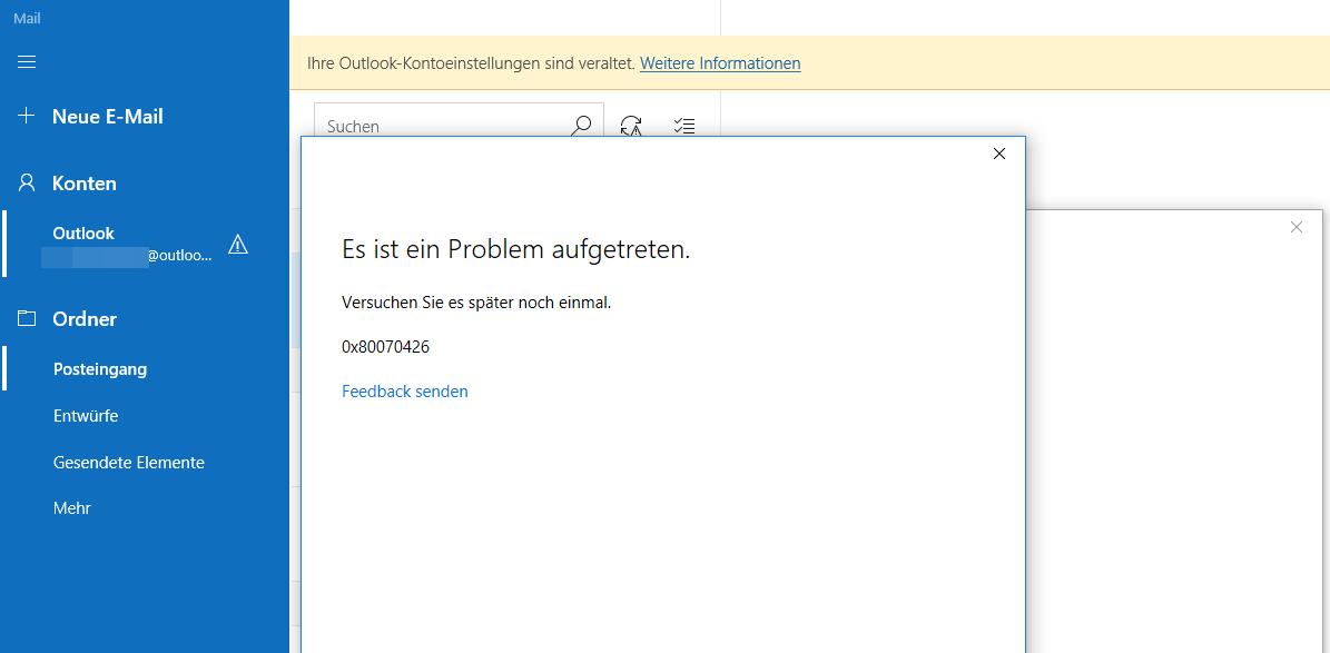 Windows Fehler Dw6vb36