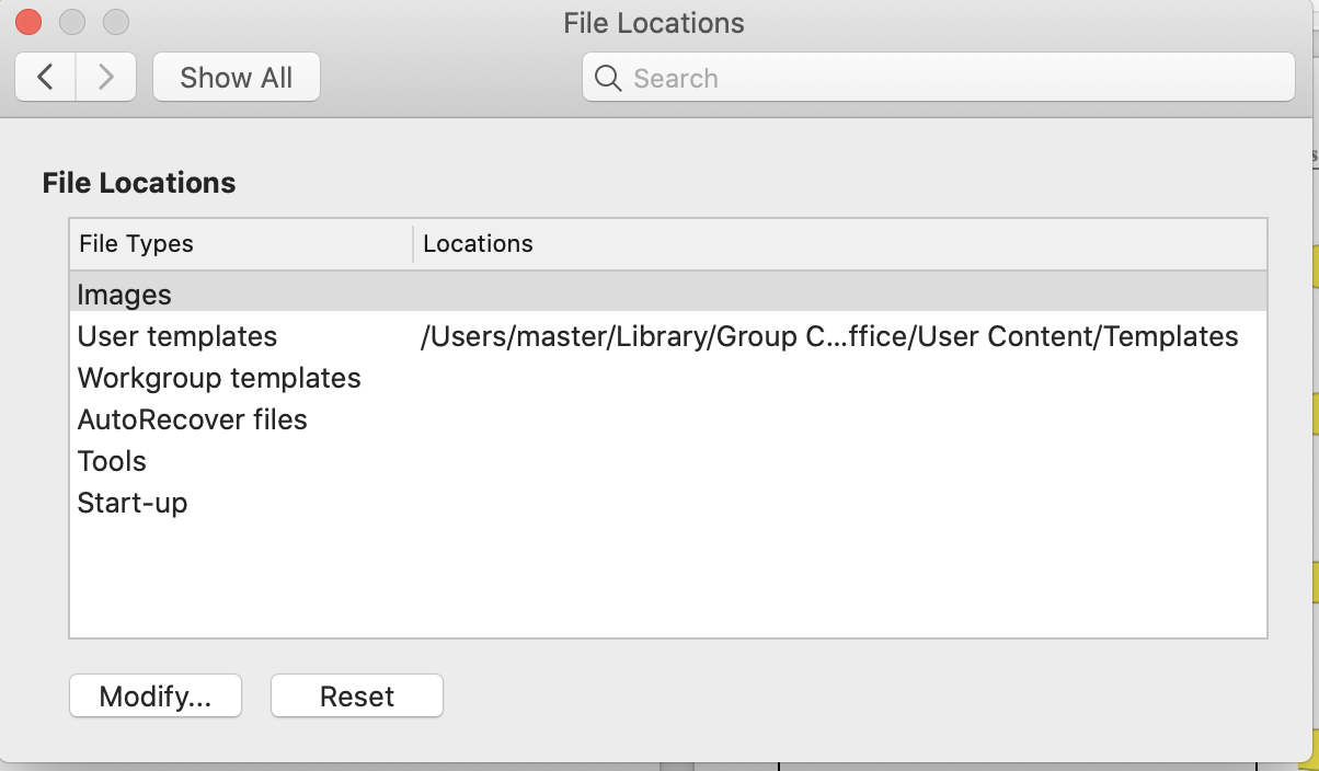 Word For Mac 2019 Autorecovery File Locations Cannot Be Set