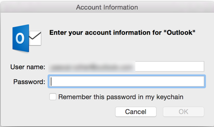 Outlook 2015 Mac keeps asking for Gmail password  - Microsoft Community