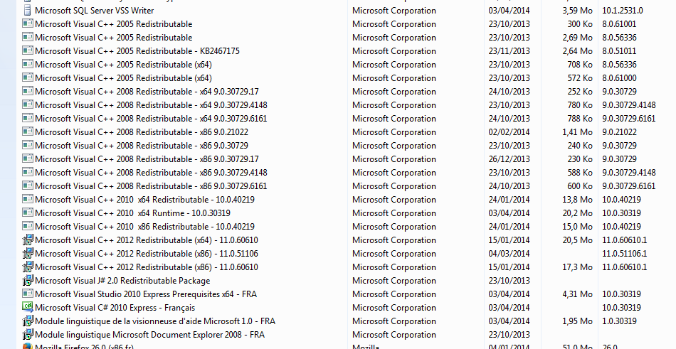 Microsoft Visual C Redistribuable Microsoft Community