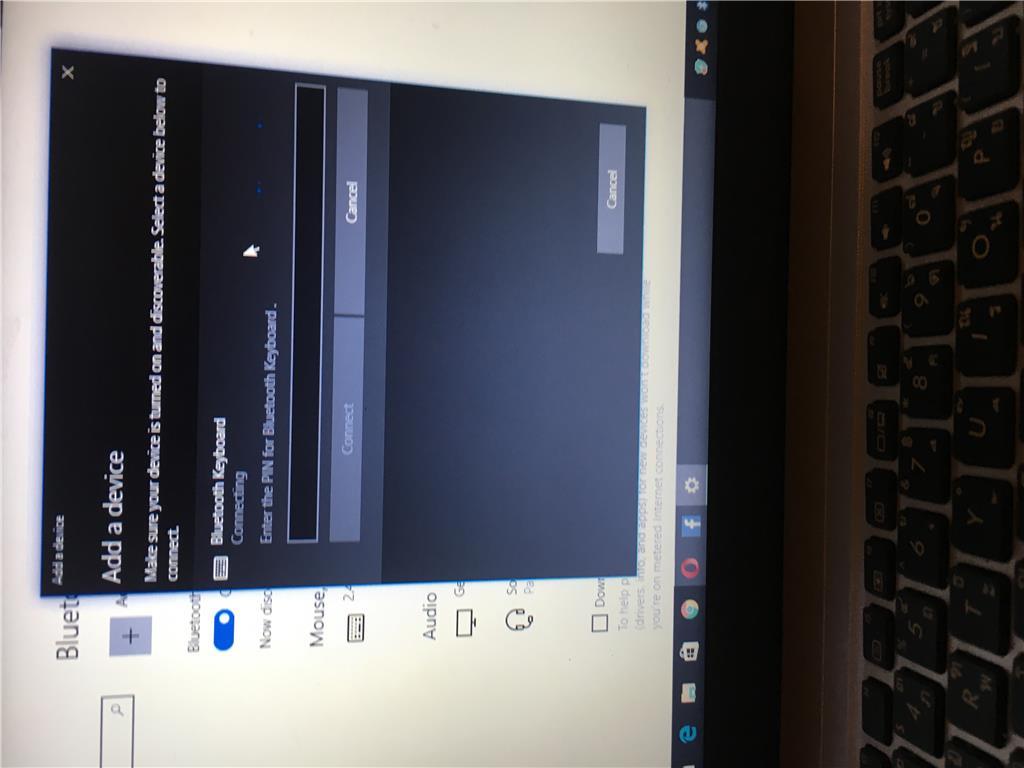 How I Can Get New Pin Of Keyboard Bk3001 Microsoft Community