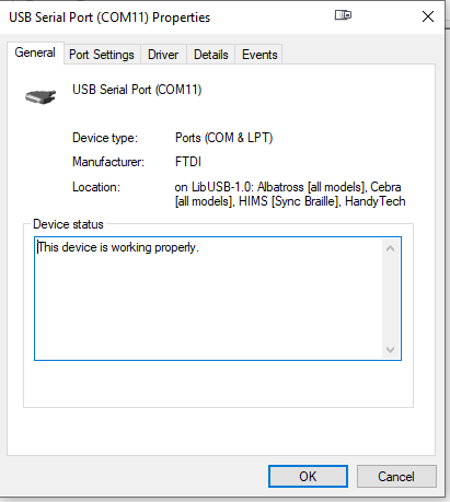 3d print drivers on com port 11 get disabled by microsoft
