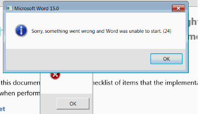 excel.exe application error the instruction at