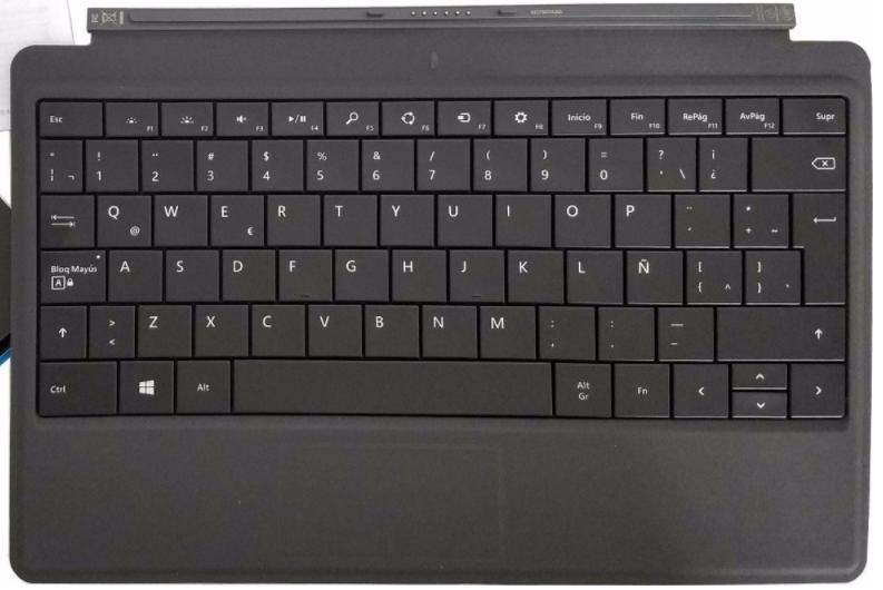 Surface Pro 2 Spanish Keyboard Layout Usability Microsoft Community