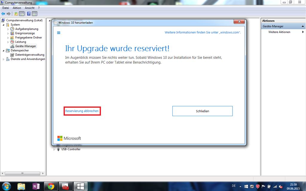 Windows 10 Reservierung Kommt Nicht