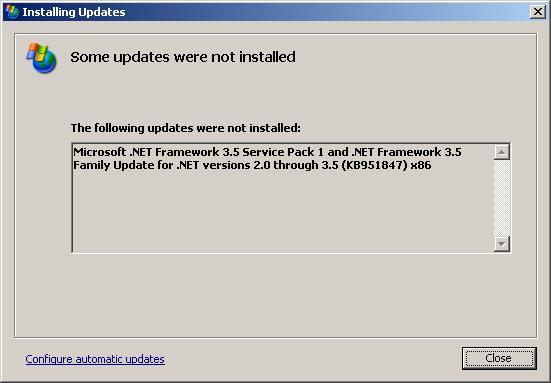 net framework 3.0 windows xp sp2