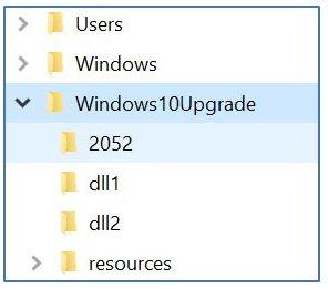 is it ok to delete the windows10upgrade folder