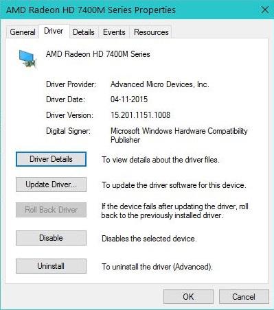 amd radeon 7800 driver update
