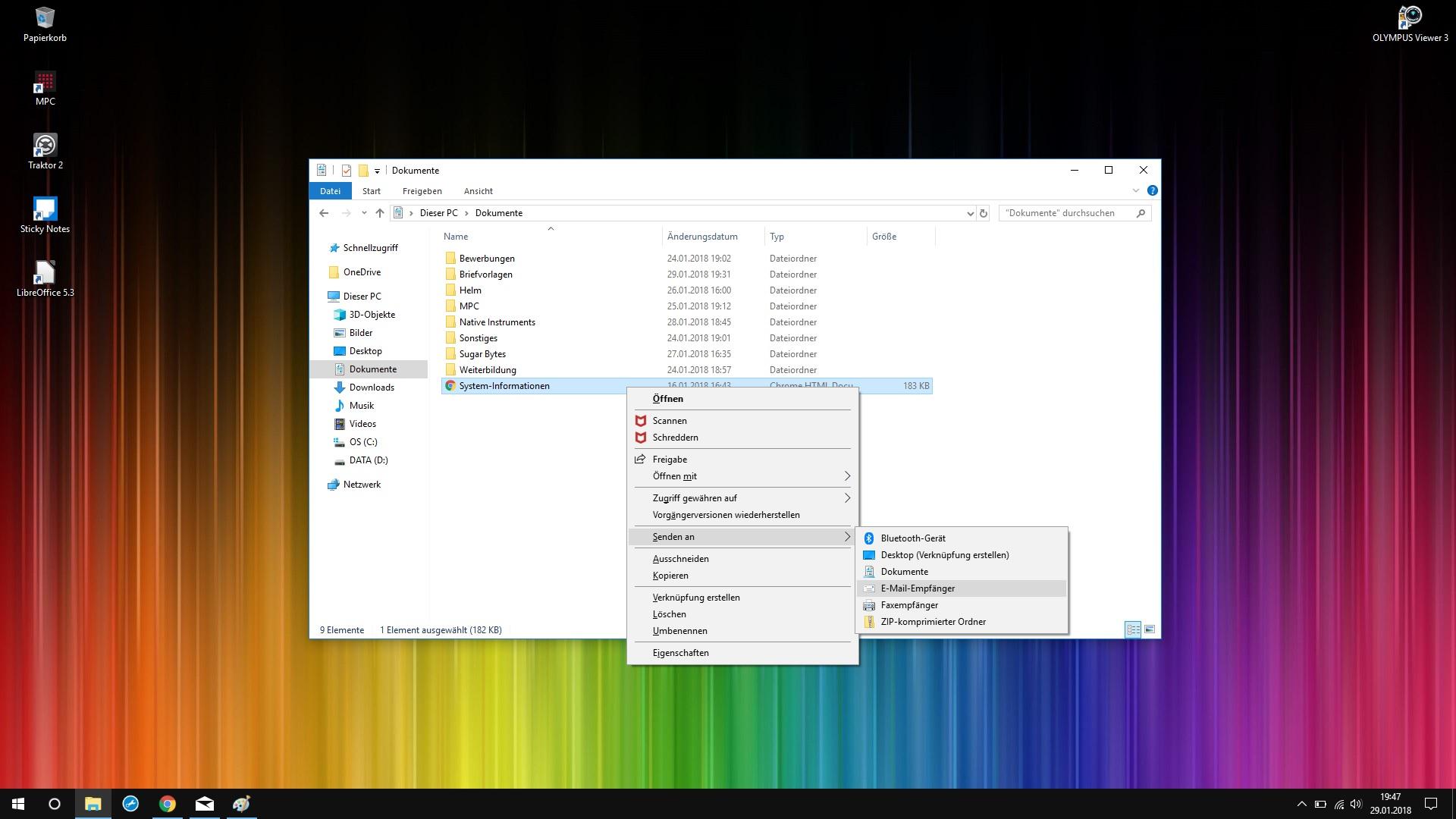 Windows 10 - Mail APP - Senden an E-Mail Empfänger nicht - Microsoft ...
